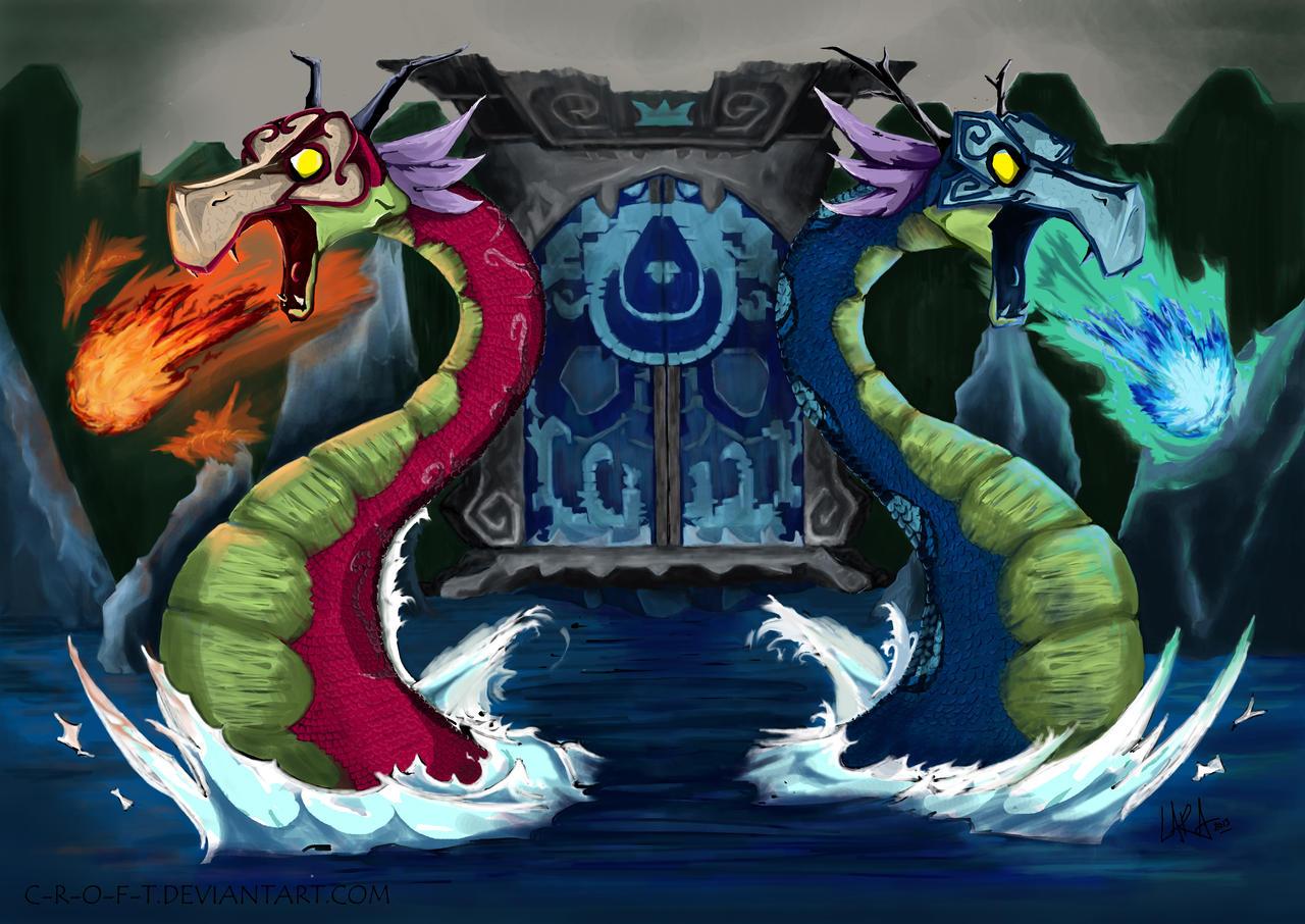 Link's Blacklist - Gleeok - Phantom Hourglass by c-r-o-f-t