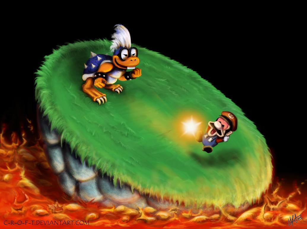 Mario's Blacklist - Iggy Koopa - Super Mario World by c-r ...