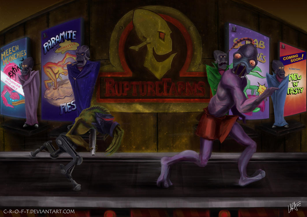 PSX 20th Anniversary - Oddworld: Abe's Oddysee by c-r-o-f-t