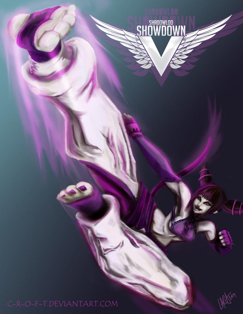 Shadowloo Showdown V: Juri Han - Impact by c-r-o-f-t