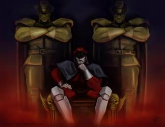 Shadowloo Showdown V: M. Bison - Reflection by c-r-o-f-t
