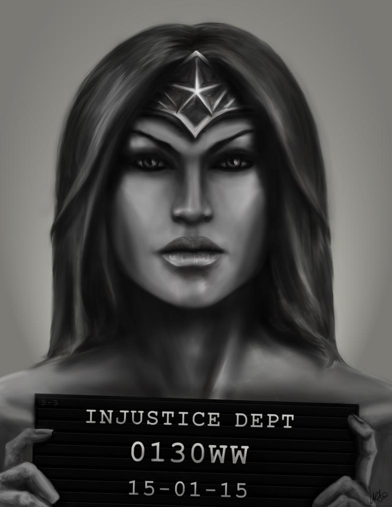 Injustice - Wonder Woman by c-r-o-f-t