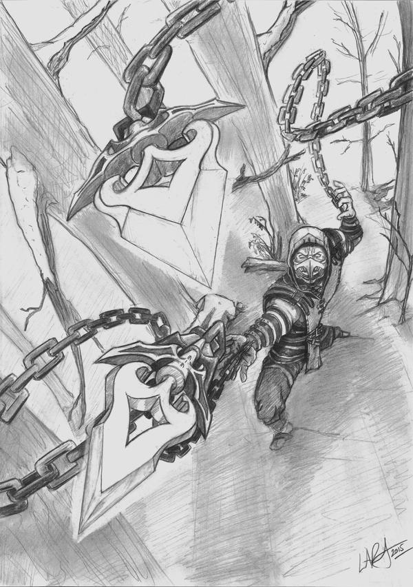 Mortal Kombat X - Scorpion by c-r-o-f-t