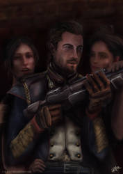 Marquis de Lafayette - The Order: 1886 by c-r-o-f-t
