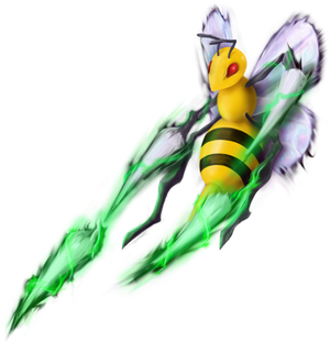 Game-Art-HQ's Pokemon Art Collaboration - Beedrill