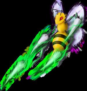 Game-Art-HQ's Pokemon Art Collaboration - Beedrill