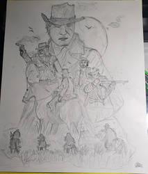 Red Dead Redemption 2 Poster by SquishyGhostX3