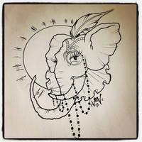 elephant idea by SedatedArtworks