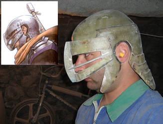 Guts Helmet -Berserk- WiP by InfectedGuili