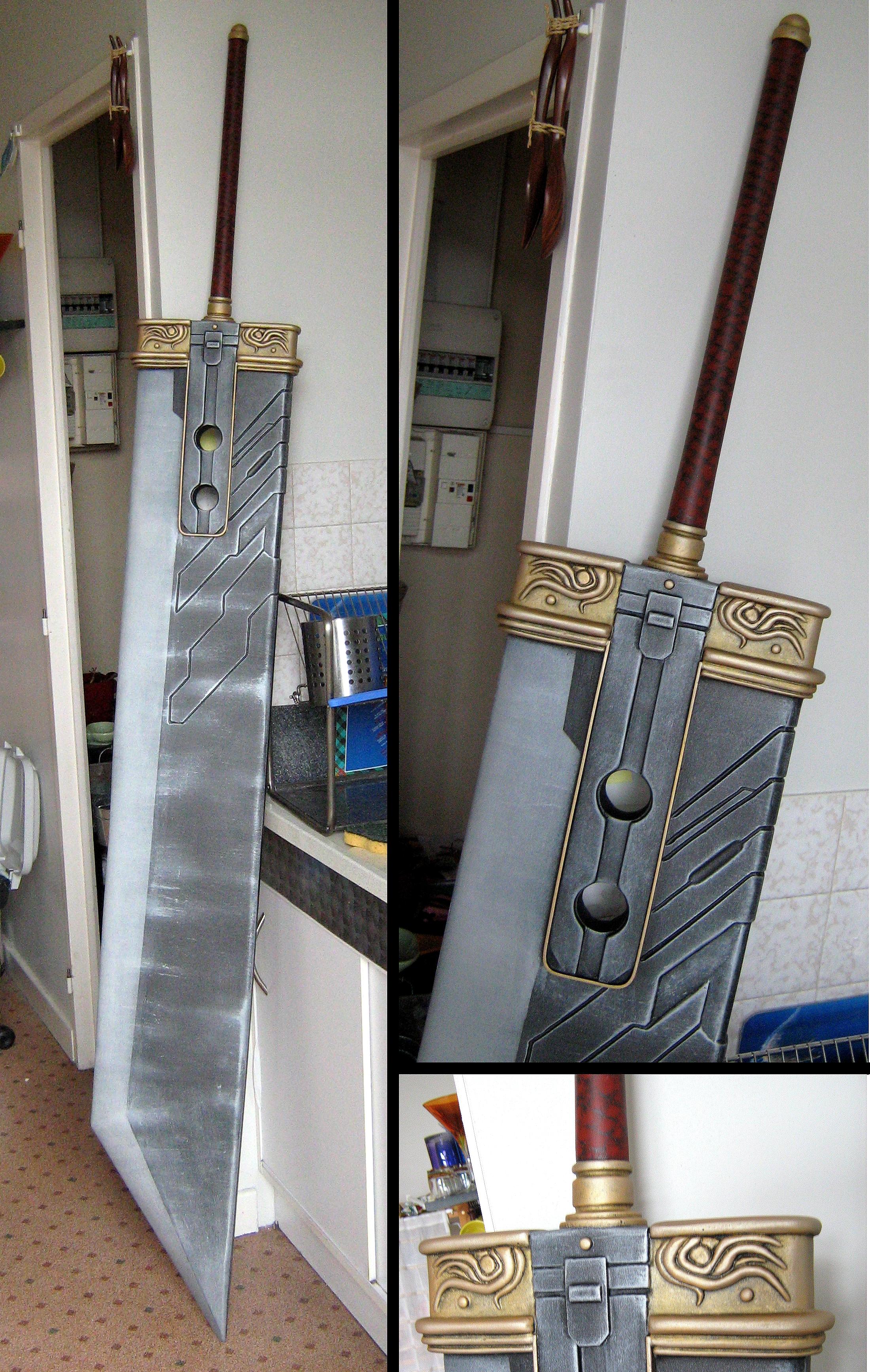 Cloud Strife's Buster Sword by Kaze-The-Dark-Wind on DeviantArt