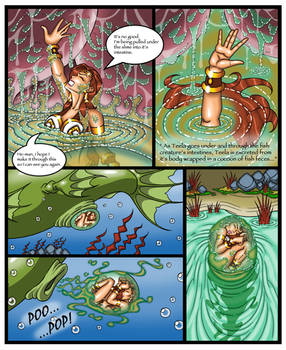 He-Man Fish Creature Attack: Out the backdoor Pg5
