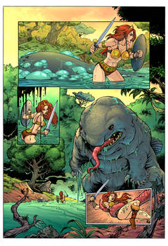 He-Man Vore: Eaten By An Ugly Giant Fish! Page 1