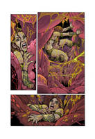 He-Man Vore: Eaten By An Ugly Giant Fish! Page 3 by zetaxinn