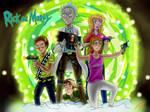 Rick And Morty Wallpaper [+SPEEDPAINT]
