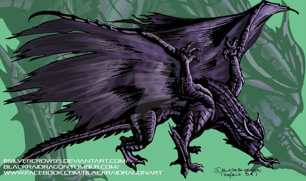 Gore Magala Mh4u By Silvercrow95 On Deviantart