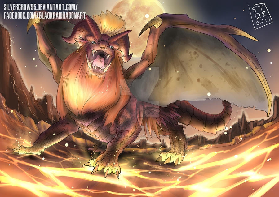 Monster Hunter Teostra By Silvercrow95 On Deviantart