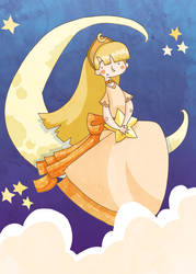 Moon Princess by JuanCaminador