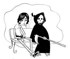 Jugando al muerto by JuanCaminador