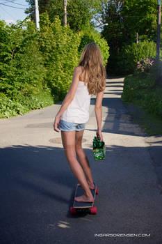 Longboard-girl