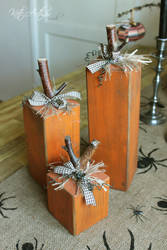 Block Pumpkins by kate-arthur
