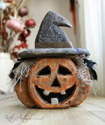Pumpkin Decoration by kate-arthur
