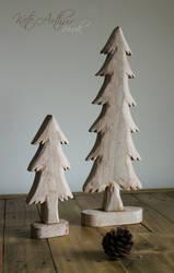 Christmas Tree Ornaments by kate-arthur