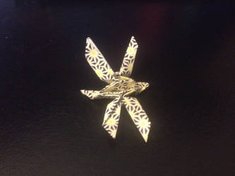Origami Dragonfly (different angle) by dnaexmosn