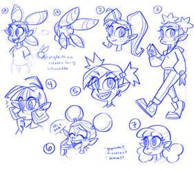 Devi Sketches 2