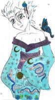 Butterflies and Kimono Hitsu