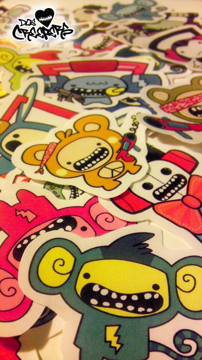 Creeper Stickers
