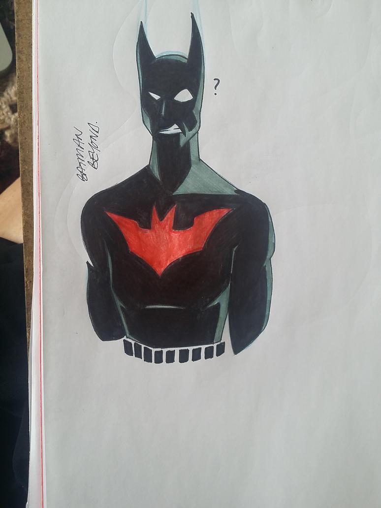 Batman Beyond by SparrowMouse