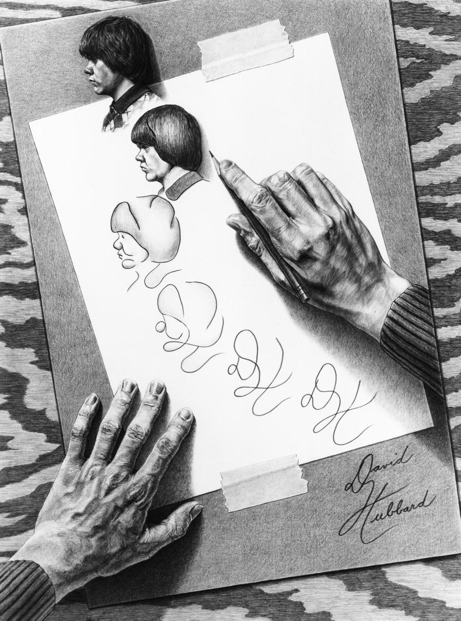 Drawing Metamorphosis by Guru-of-Graphite