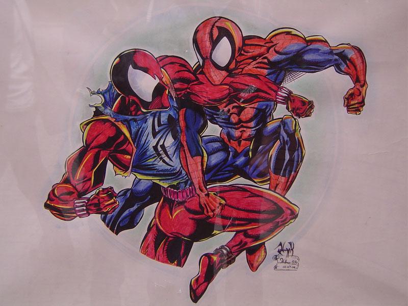 Spiderman Vs Scarlet Spider by HollmanOBScarlet Spider Vs Scarlet Spider