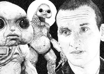 Doctor Nine and the Slitheen by ONTV