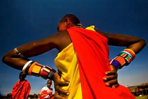 Masai woman by catman-suha