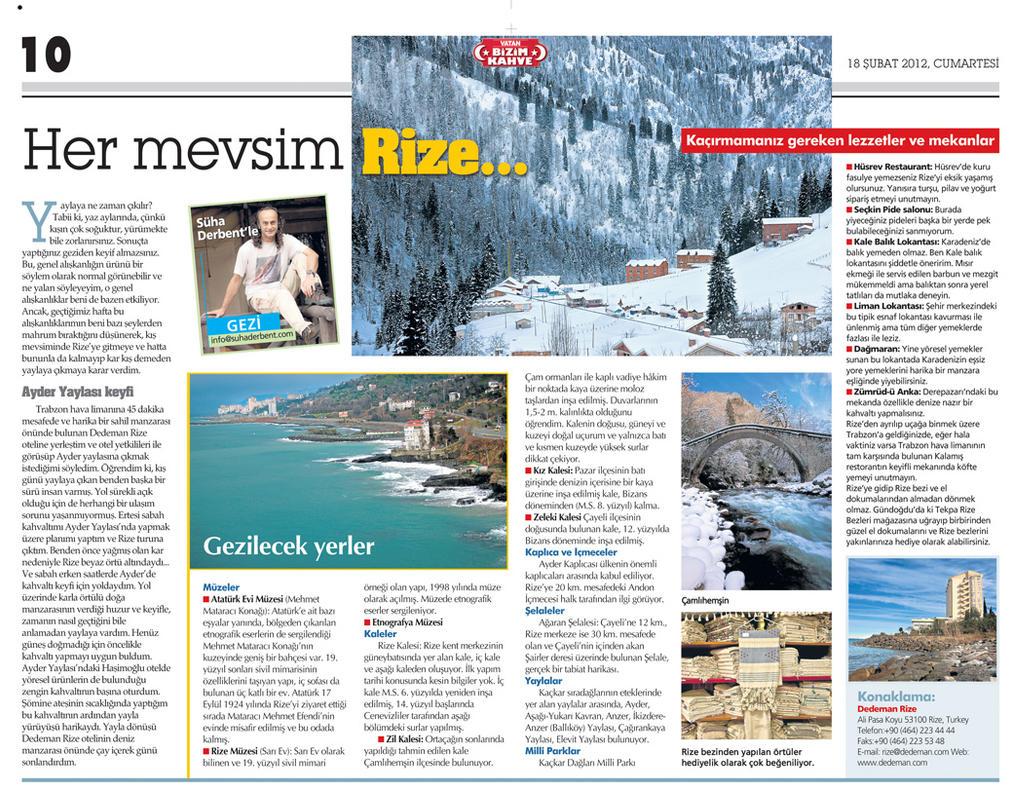 Suha Derbent'le Gezi Rize by catman-suha