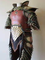 Elven Swordsinger Leather Armor (10th anniversary)