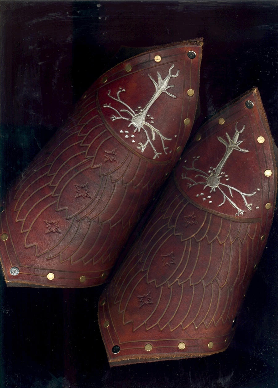 Gondorian Bracers by Flacusetarhadel