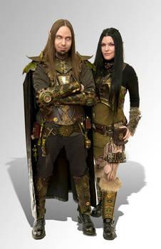 Steampunk Elven Leather Armor