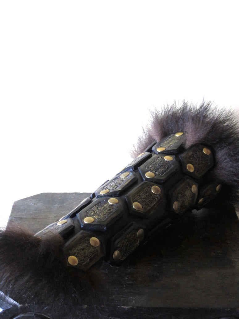 Bear kit Leather Armor (Long Bracer) by Flacusetarhadel