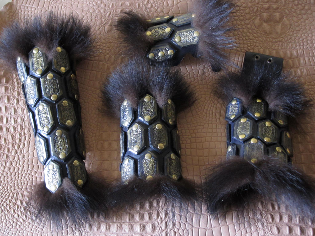 Bear kit Leather Armor by Flacusetarhadel