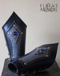 Norse Bracers (custom) by Flacusetarhadel