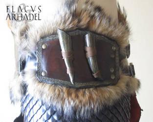 Orc War Belt (rightside detail) by Flacusetarhadel