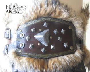 Orc War Belt (leftside detail) by Flacusetarhadel
