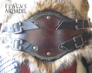 Orc War Belt (front detail) by Flacusetarhadel