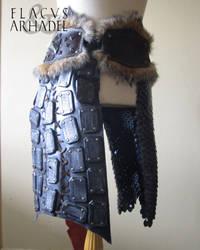 Orc War Belt (leftside) by Flacusetarhadel