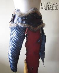 Orc War Belt (rightside) by Flacusetarhadel