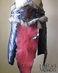 Orc War Belt (front) by Flacusetarhadel