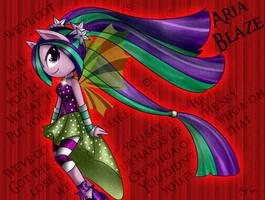Aria Blaze by AngGrc