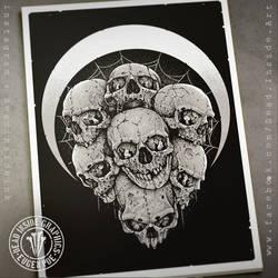 Seven Skulls by DeadInsideGraphics